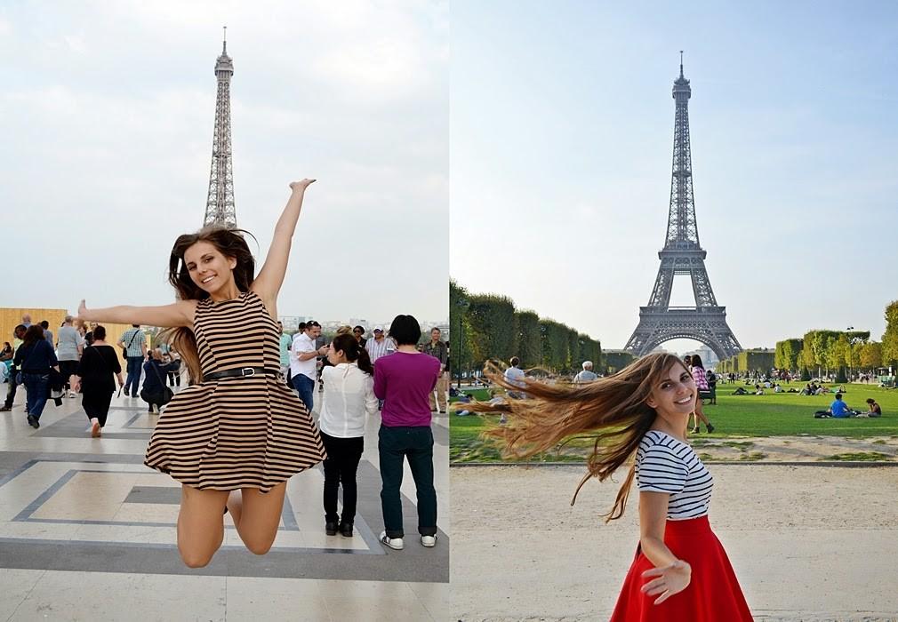 wieża Eiffla moda Francja