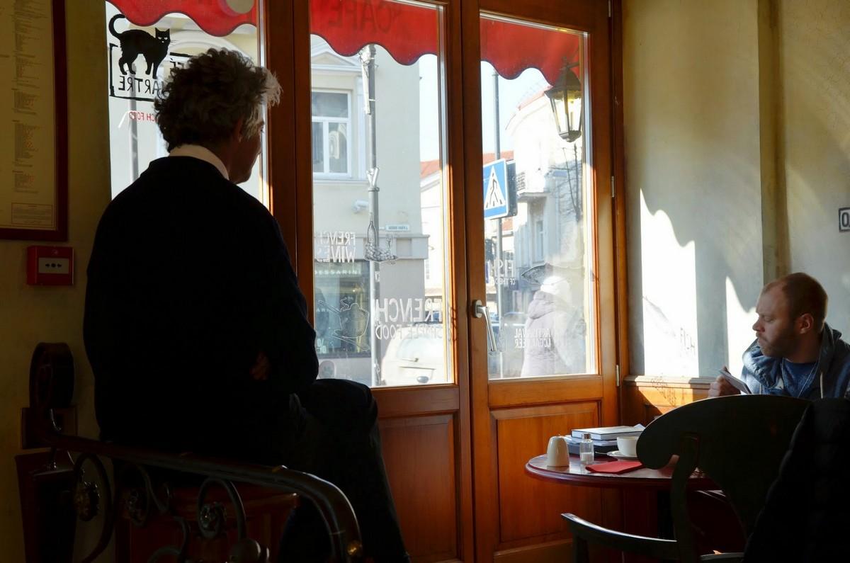 Wilno paryska kawiarnia