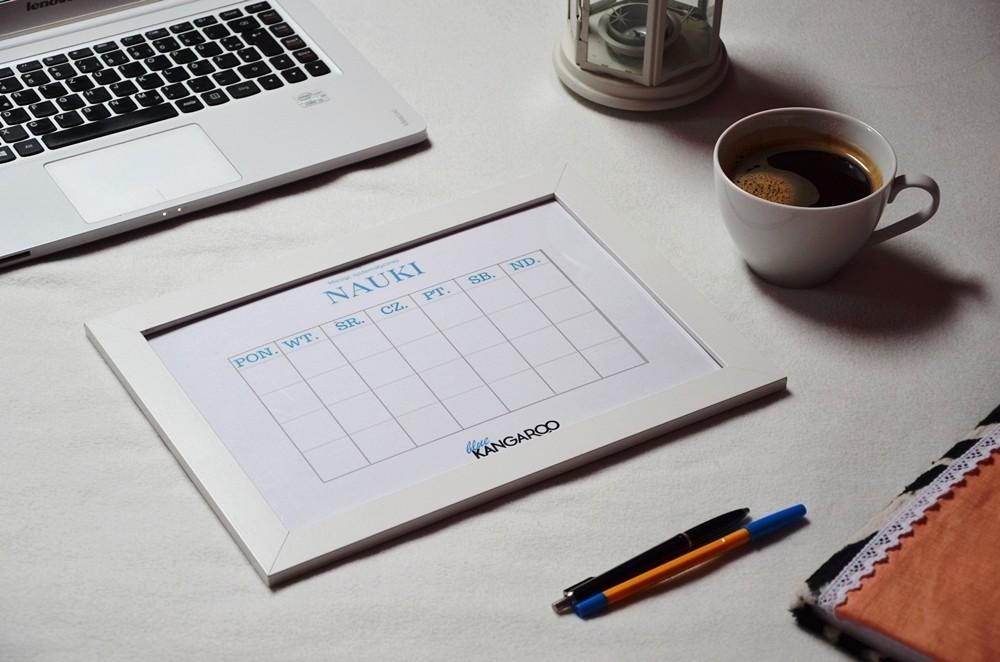 Wydrukuj tabelkę i dołącz do wyzwania: Miesiąc systematycznej nauki.