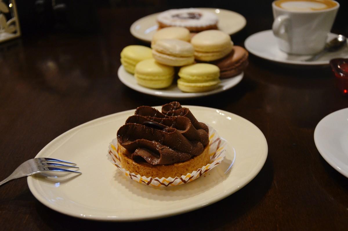 cupcake makaroniki