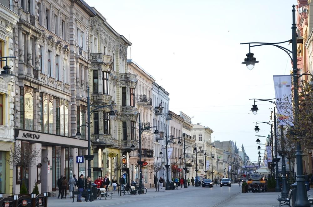 co można robić w Łodzi? piotrkowska