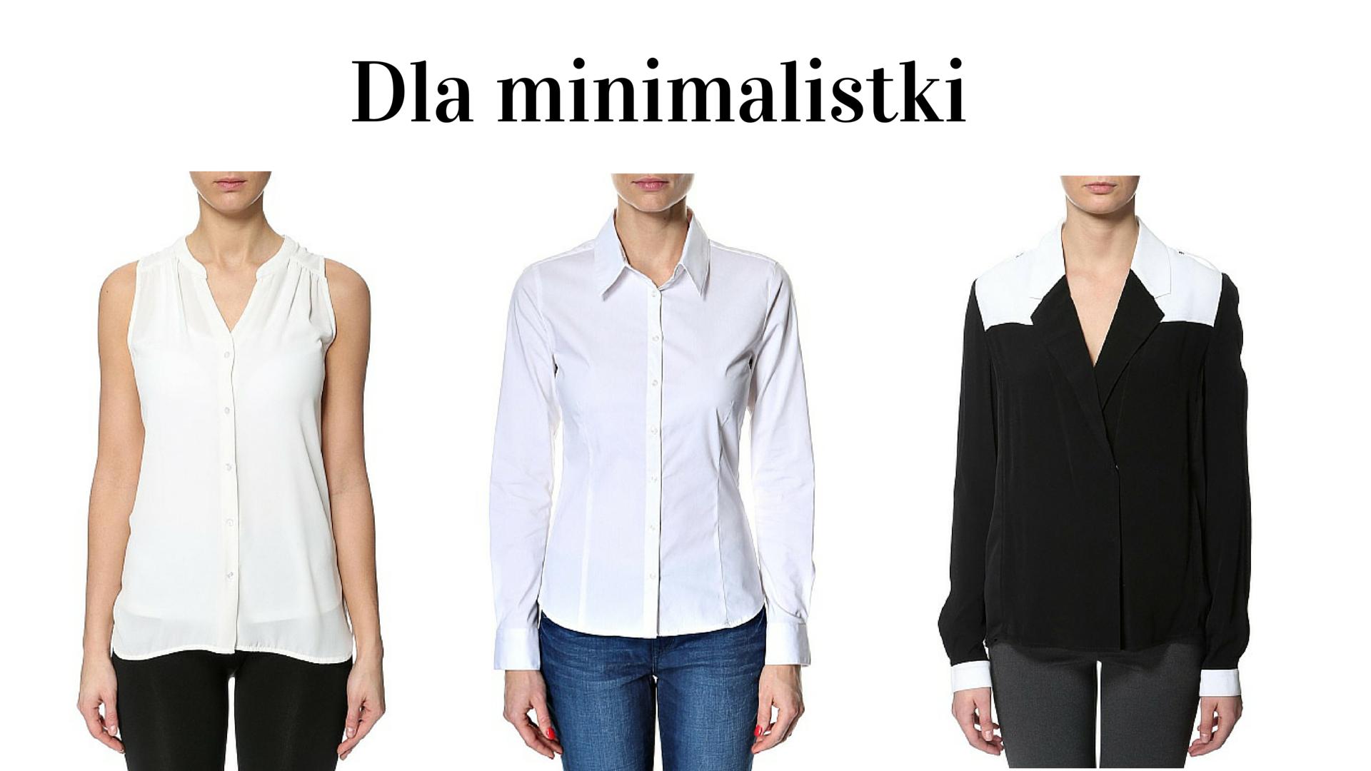 Dla minimalistki