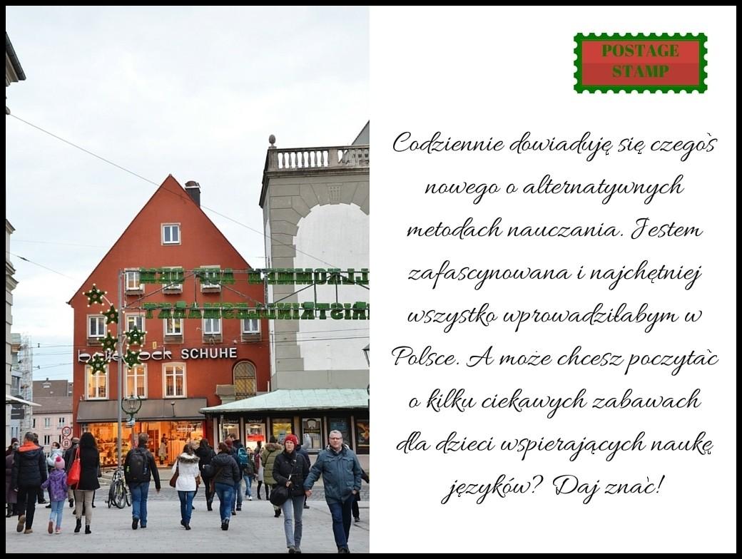 pocztówka z Niemiec