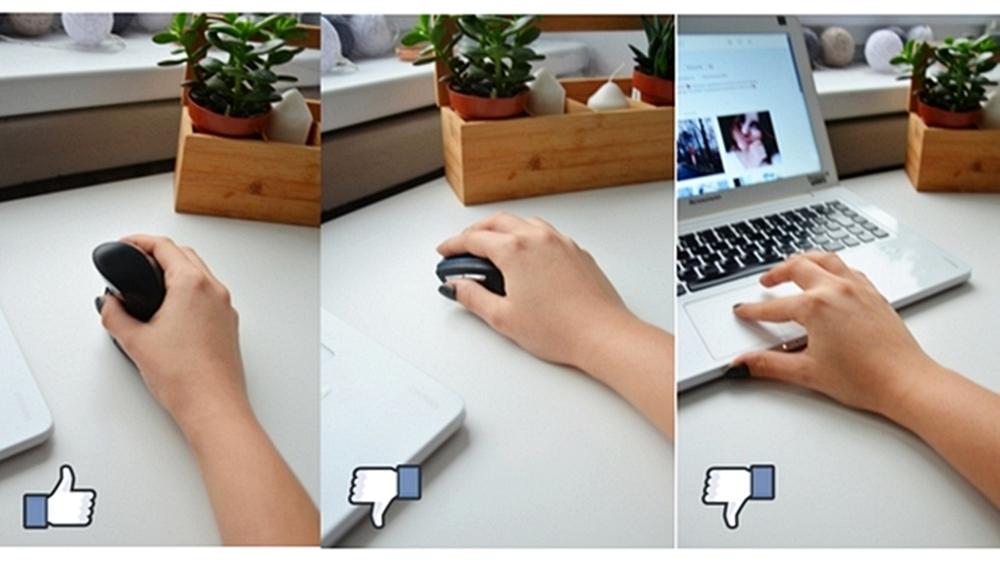 Klawiatura ergonomiczna i mysz pionowa